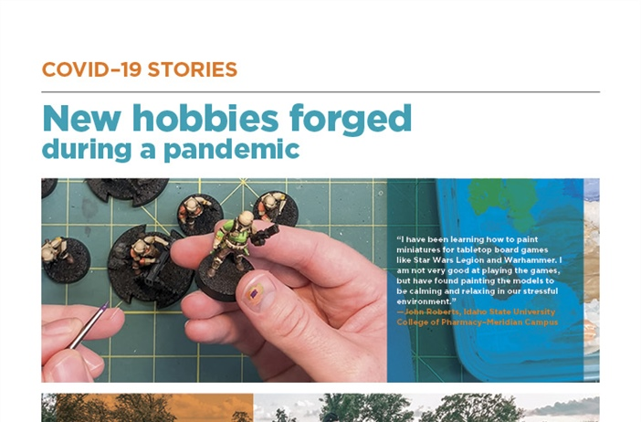 New hobbies forged during a pandemic